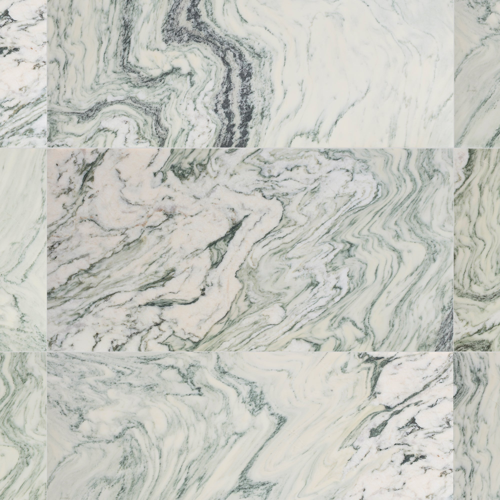 Mosaic Cipollino Marble Swatch Card  Honed Samples product photo