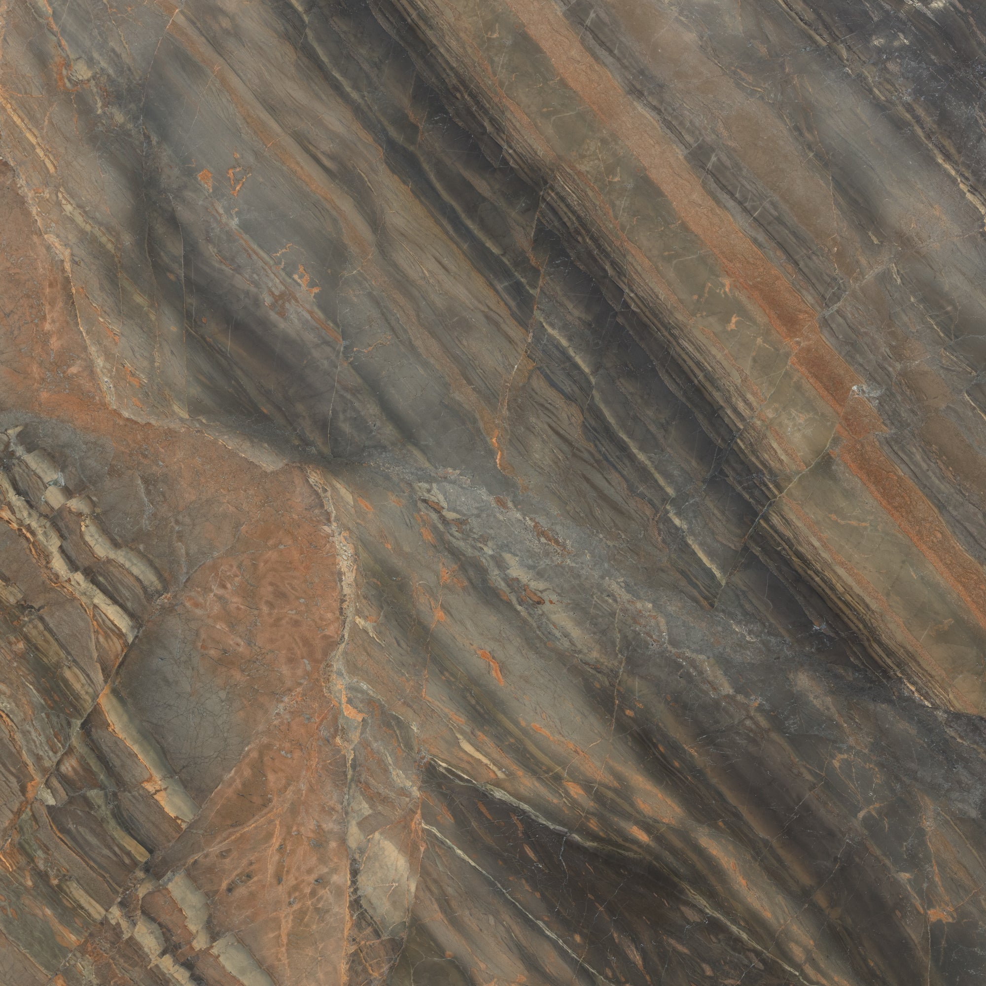 3cm Copper Dune Quartzite Swatch Card  Polished Samples Slab product photo