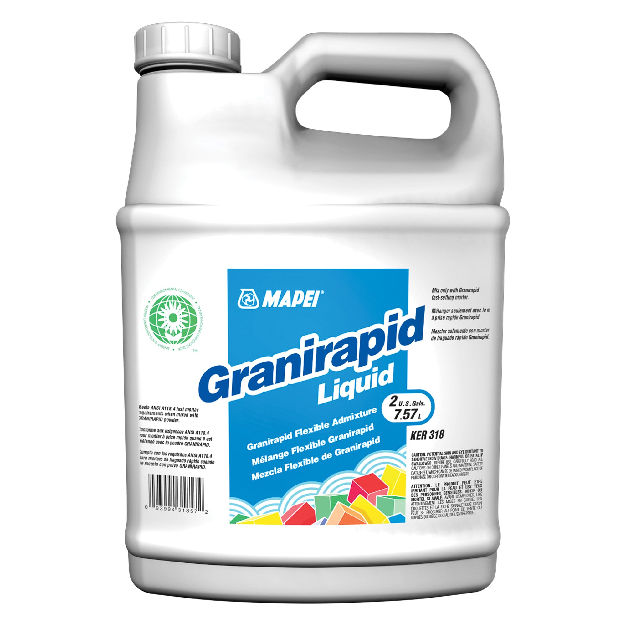 Mapei Granirapid Liquid Additive White 2-Gal Jug Additive product photo