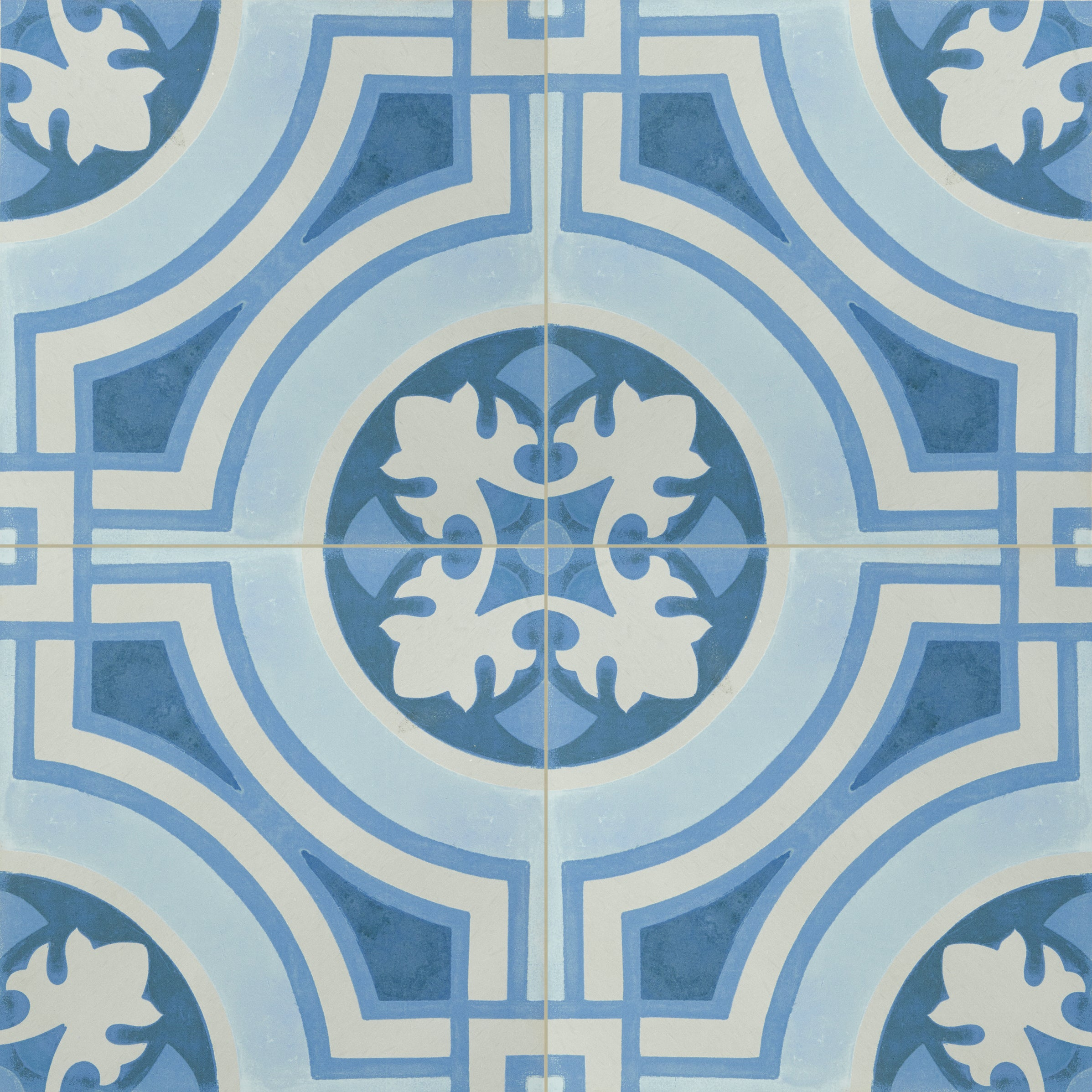 Hydraulic Blue Field Tile product photo