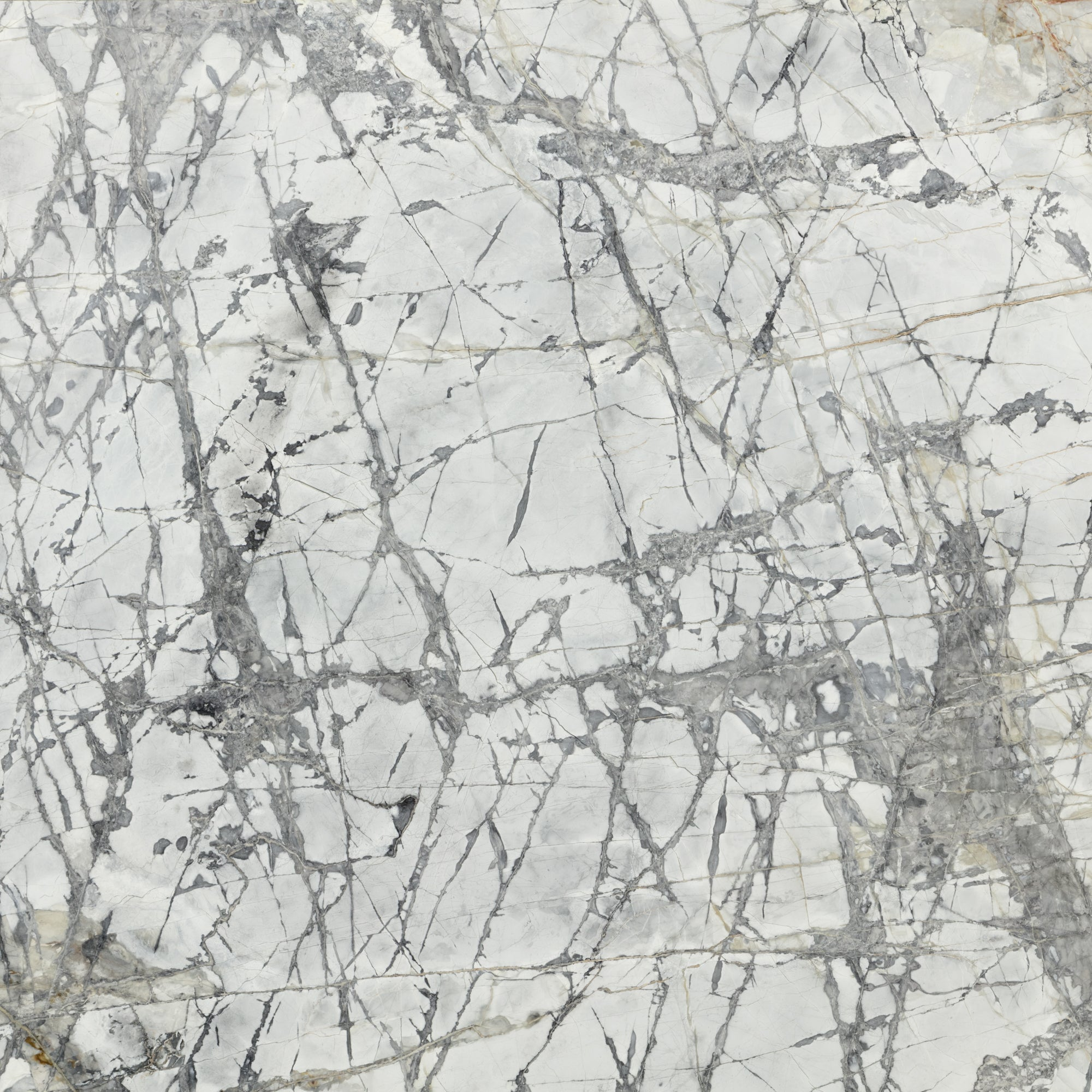 Invisible Grey Marble Slab 3/4