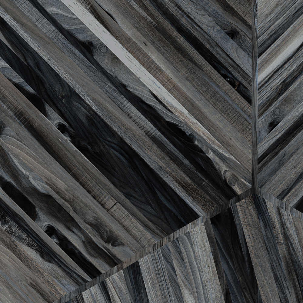 Kauri Diagonal Grey Swatch Card  Polished Samples product photo