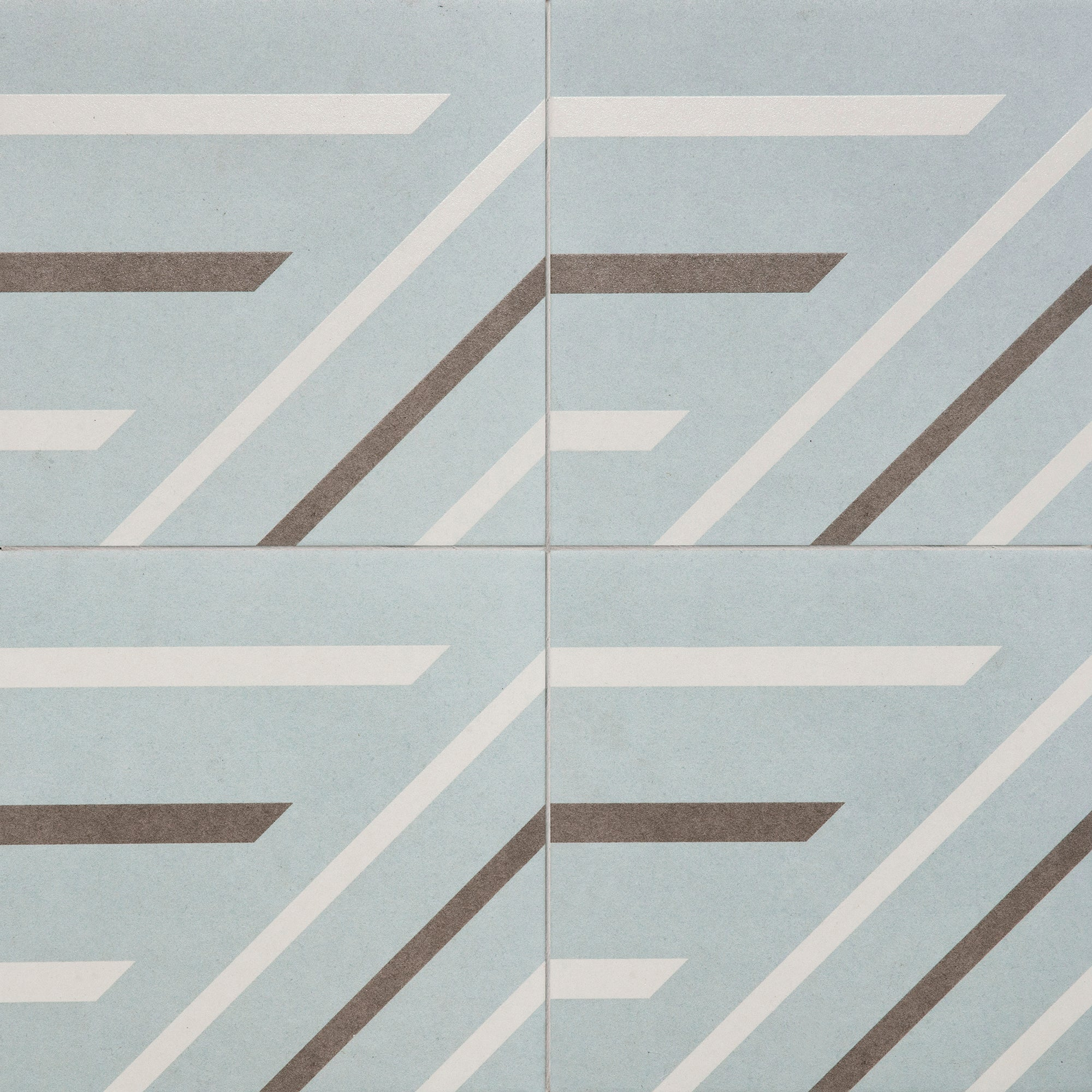 Lino Blue Field Tile product photo