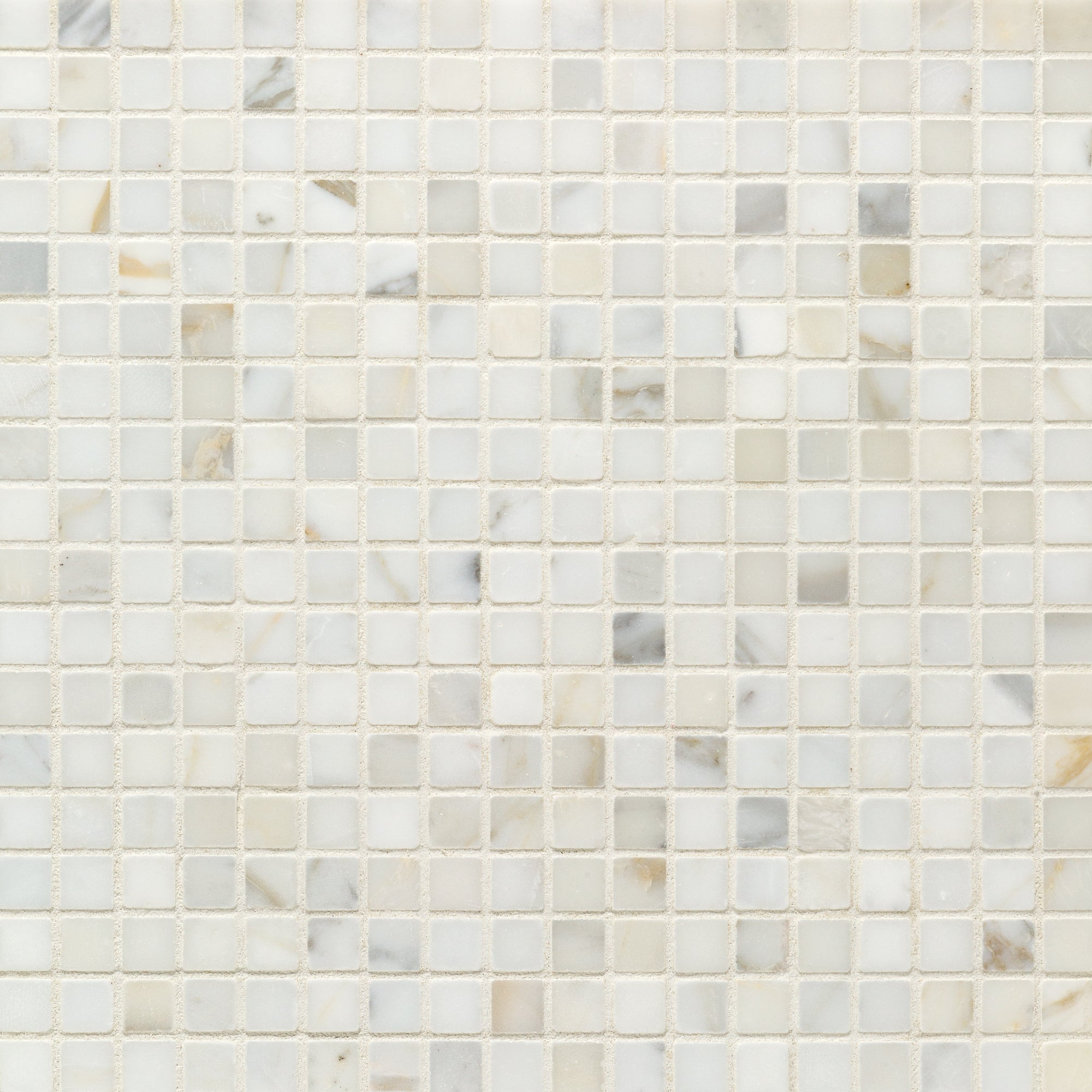 Mosaic Calacatta Gold Marble Swatch Card  Honed Samples Straight Joint 1.5cm product photo