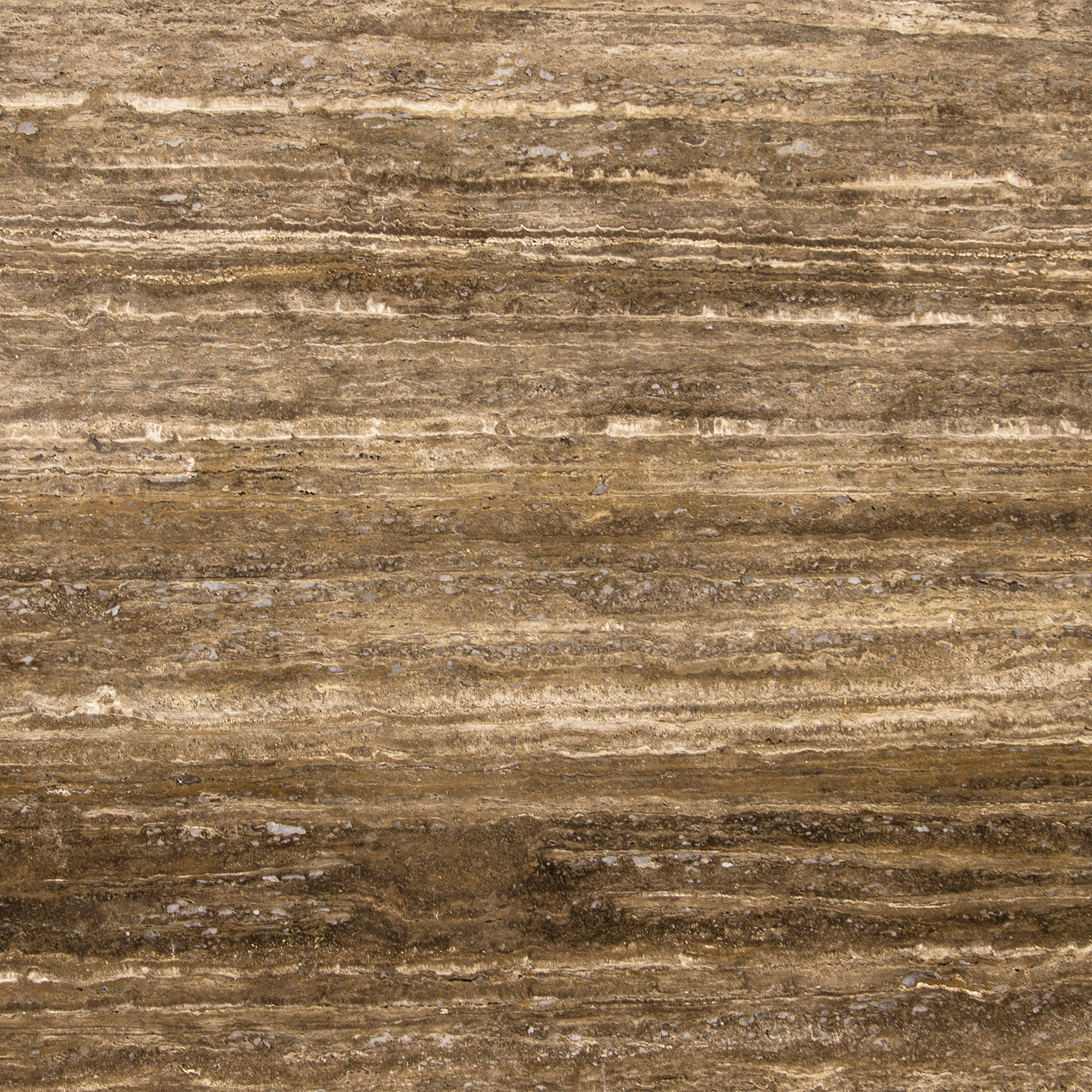 2cm Ocean Brown Travertine Swatch Card  Honed Samples Slab product photo