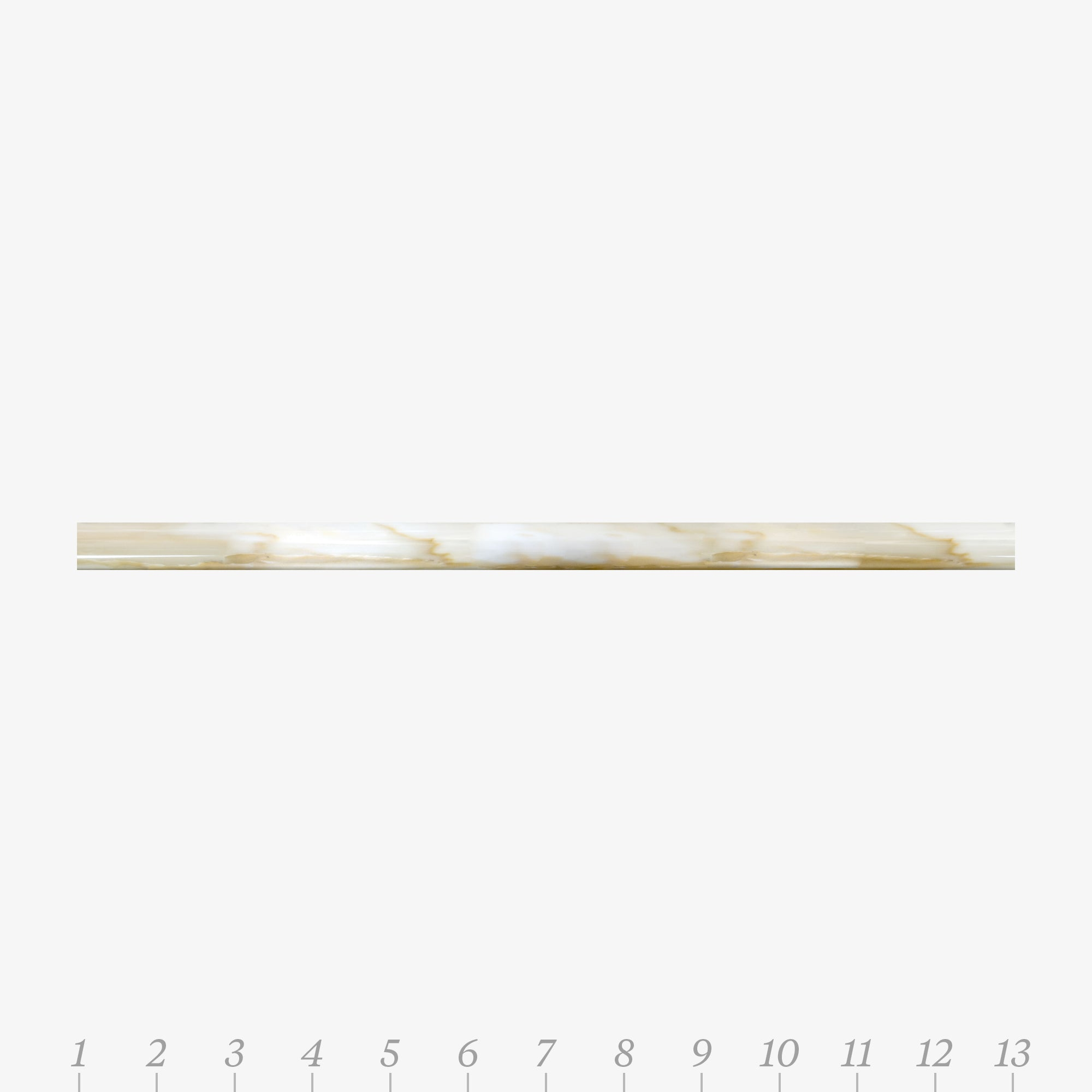 Opus 1 Calacatta Gold Marble Molding product photo