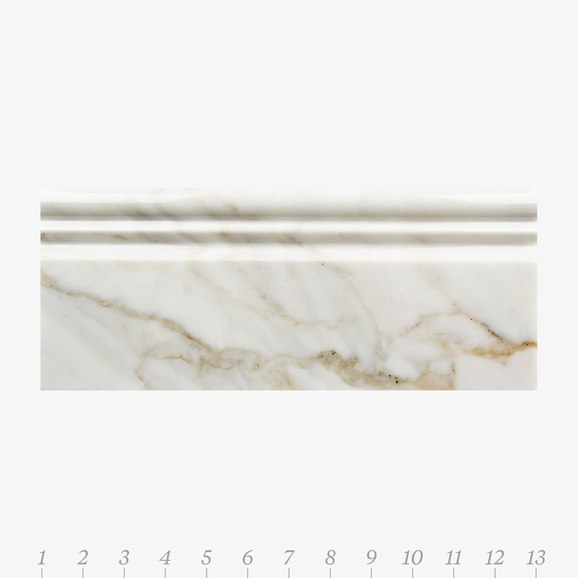 Opus 5 Calacatta Gold Marble Molding product photo