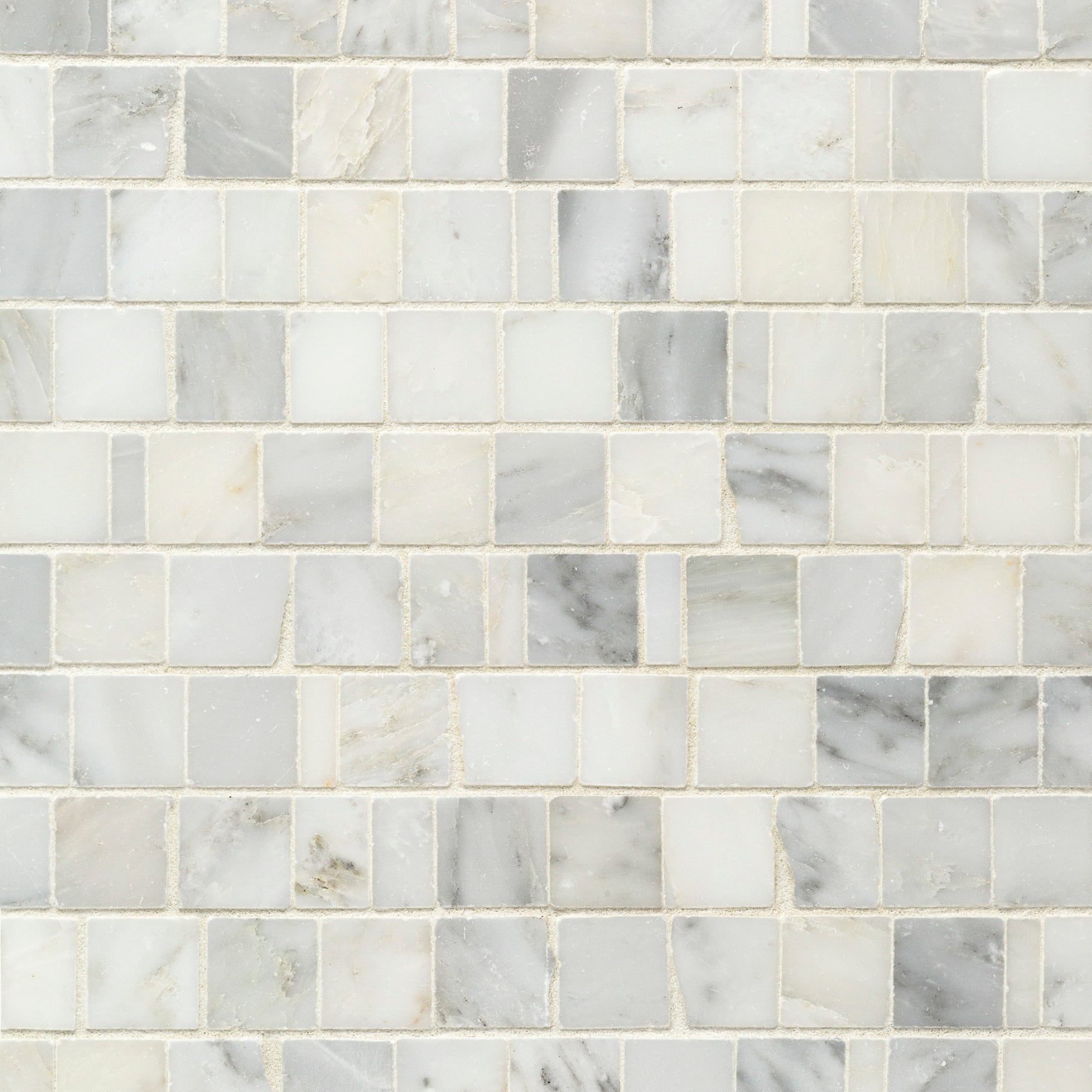 Pacific White Marble Mosaic product photo