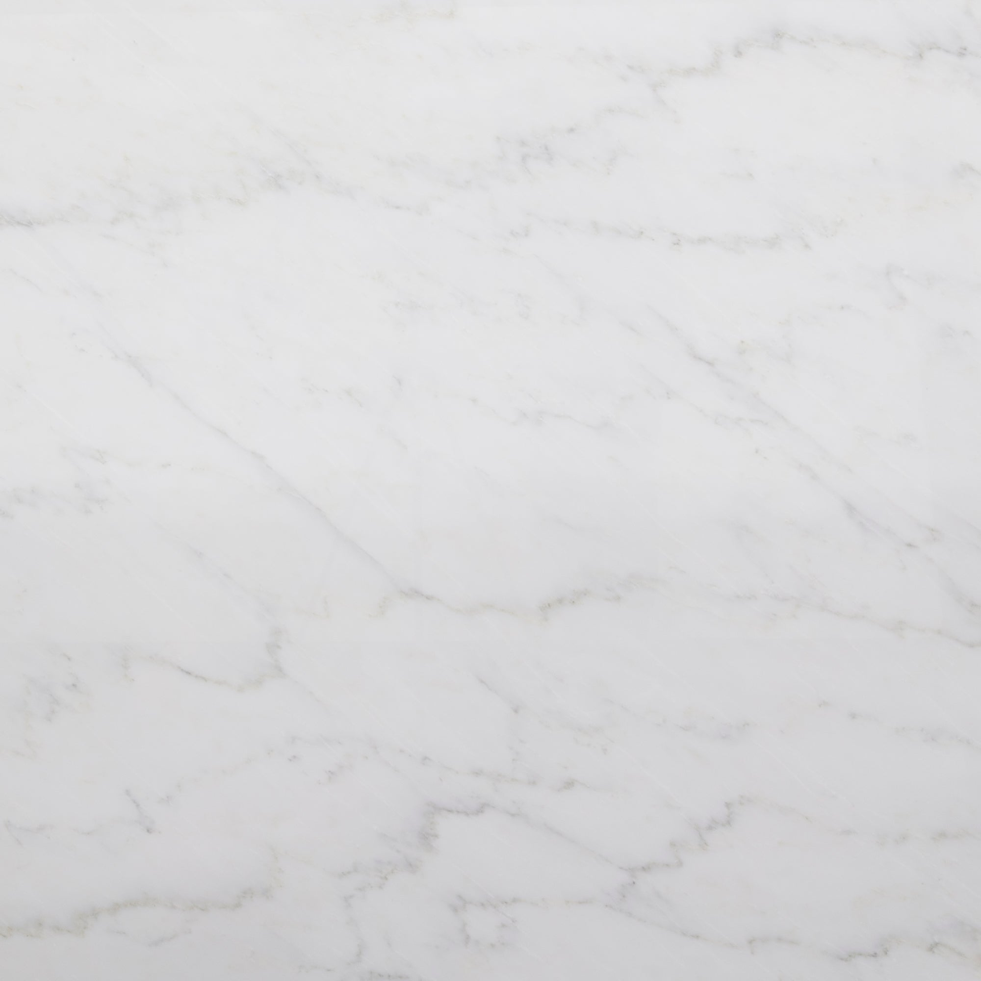 A1 Select Pacific White Marble Swatch Card  Polished Samples 1.8cm Slab product photo