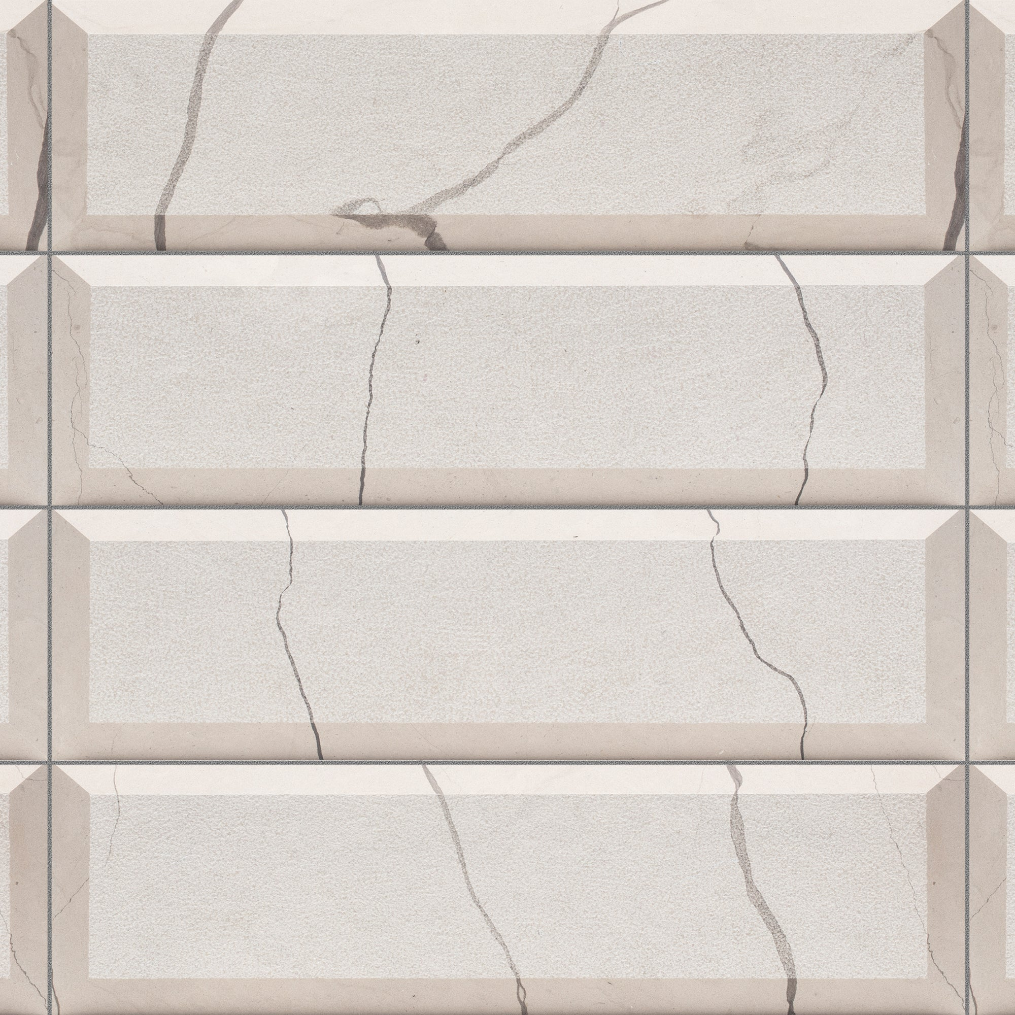 Piqué Bevel Balkan Beige Marble Swatch Card  Textured Samples product photo