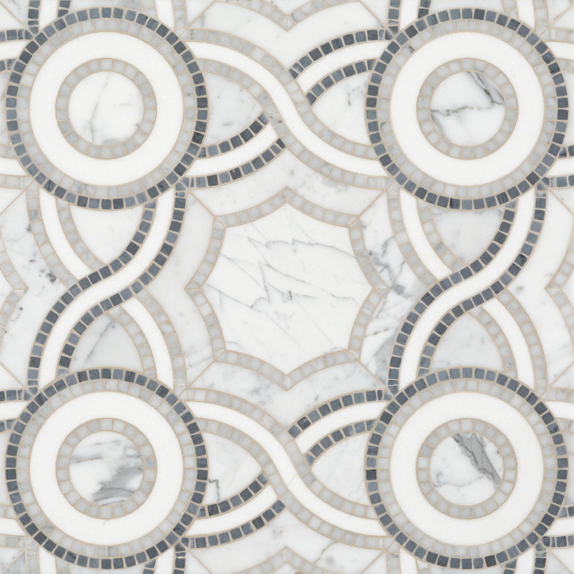 Pompeii Grey Swatch Card  Polished Samples product photo