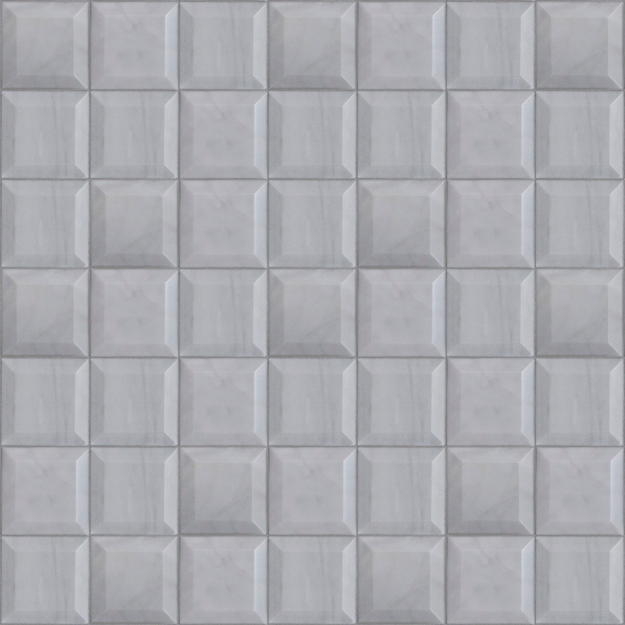 Prime Grey Marble Swatch Card  Polished 2-3/4