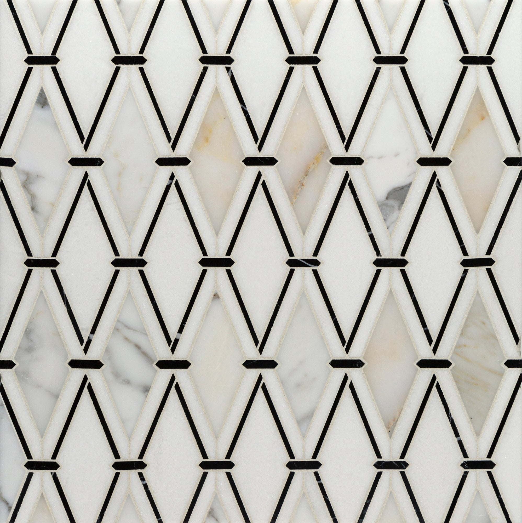 Rialto White & Black WJ Mosaic product photo