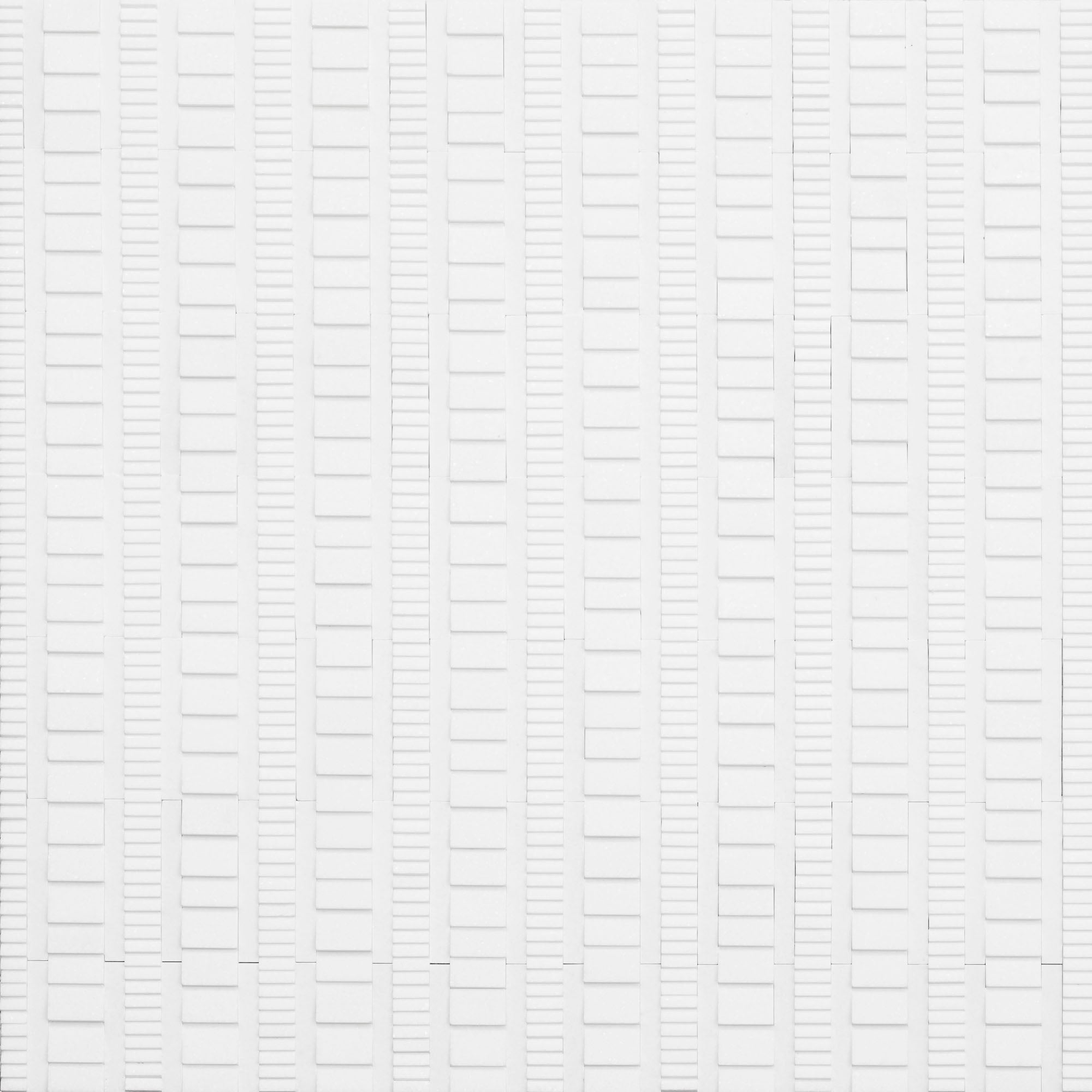Ridge Thassos Marble Swatch Card  Mixed Finish Samples product photo