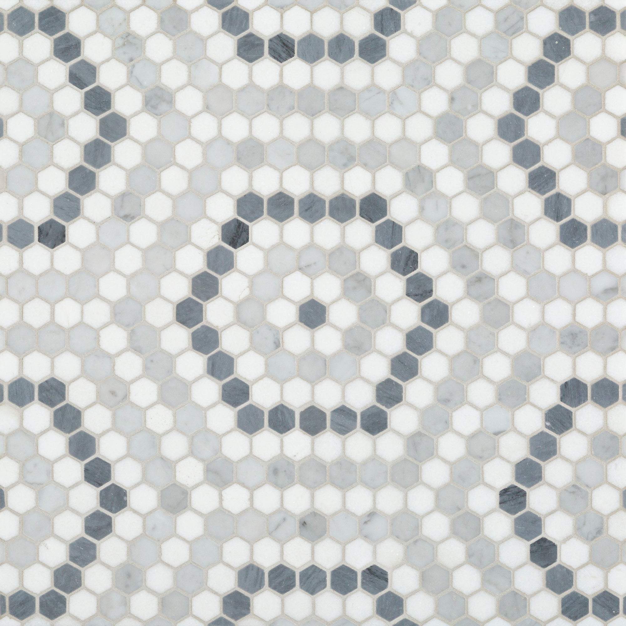 Riverside Drive Hex Grey Mosaic product photo