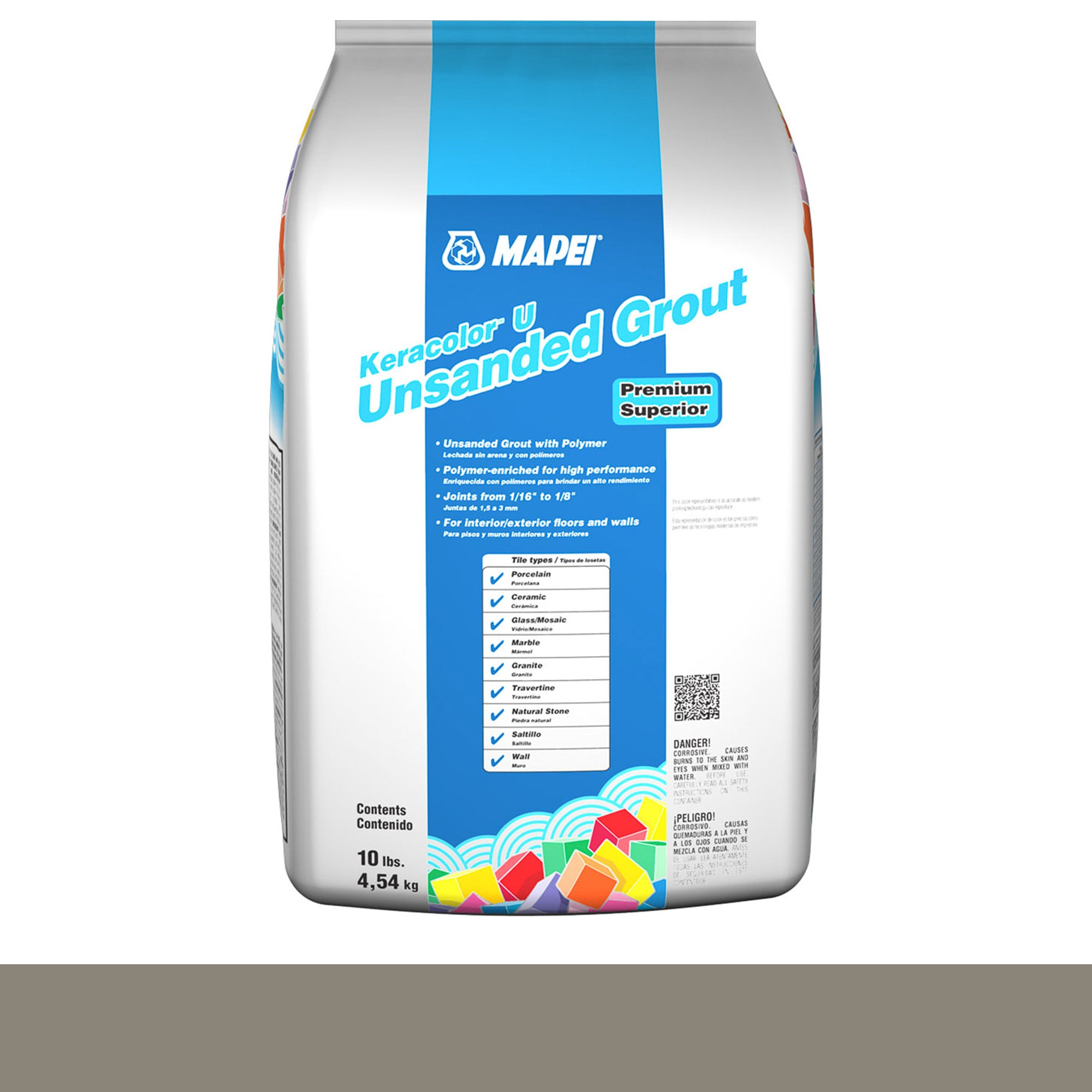 Mapei Keracolor 11-Sahara Beige 10-Lb Bag Grout Unsanded product photo