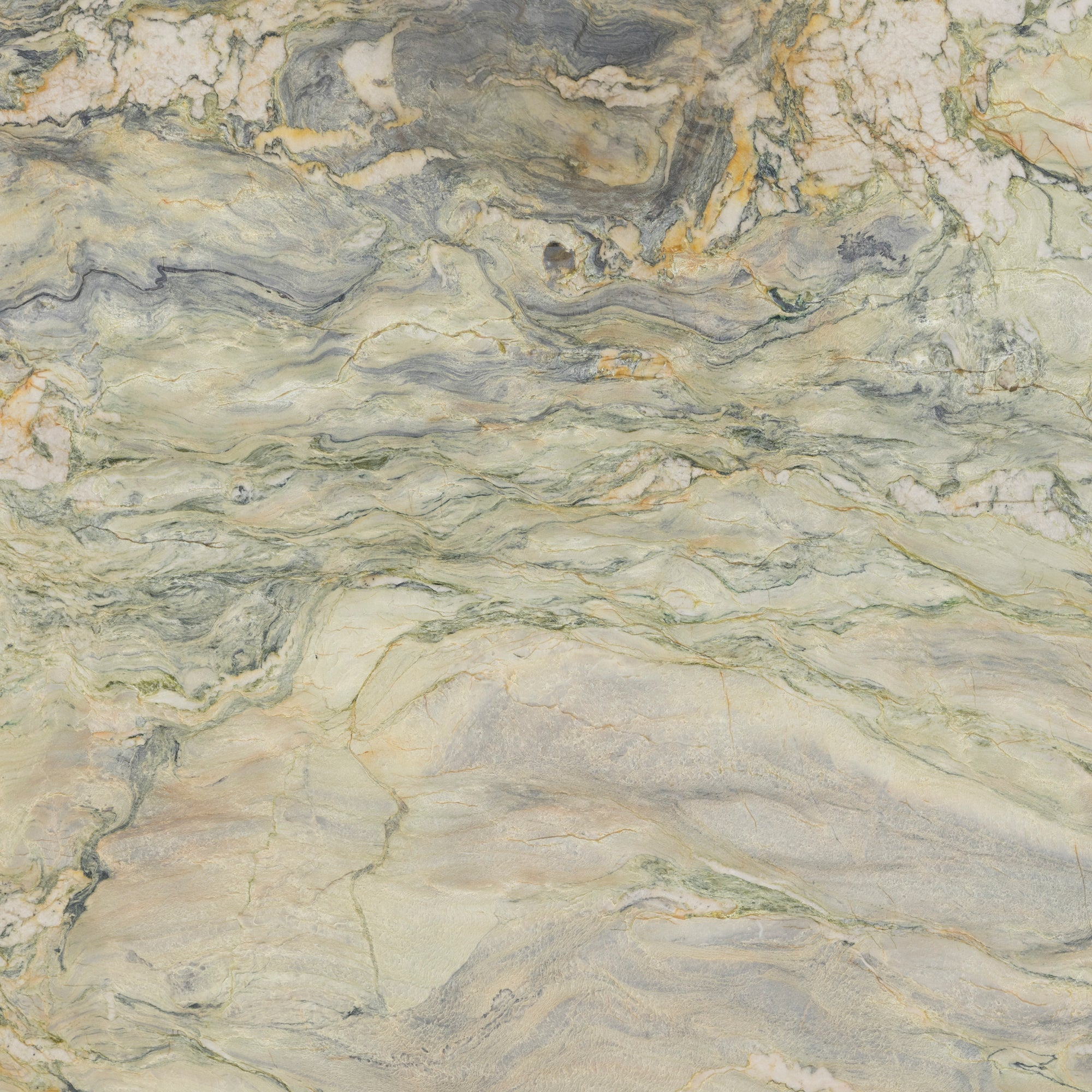 3cm Fusion Wow Light Quartzite Swatch Card  Leather Samples Slab product photo