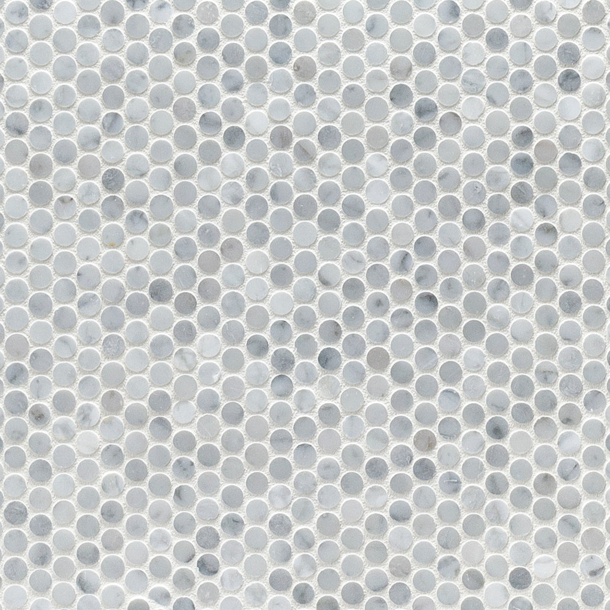 Studs Bianco Carrara Marble Swatch Card  Polished Samples Studs product photo