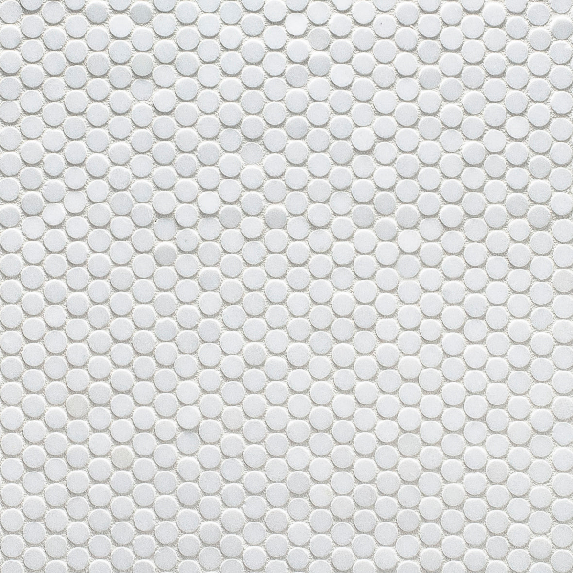 Studs Thassos Marble Mosaic product photo