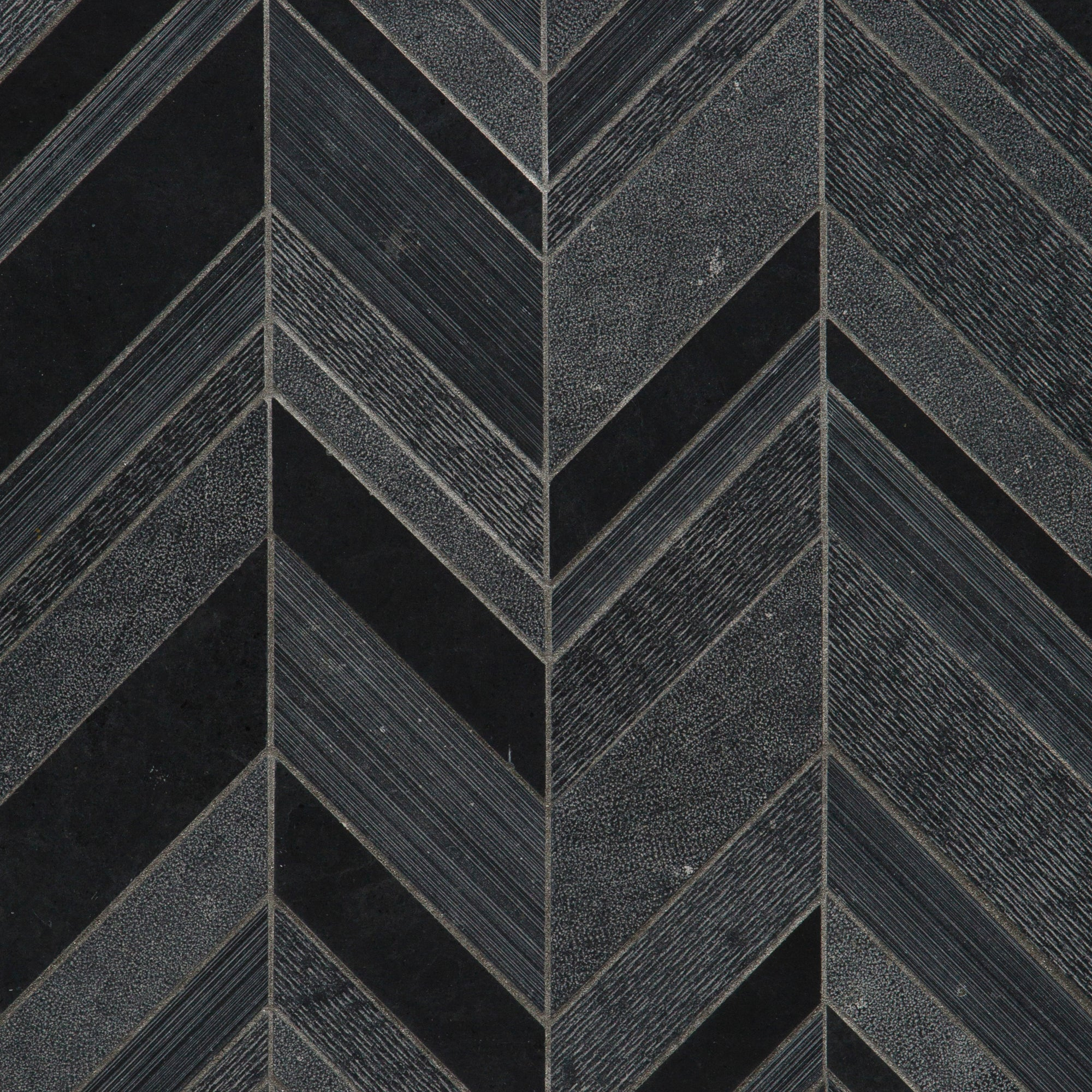 Textura Nero Italia Limestone Mosaic product photo