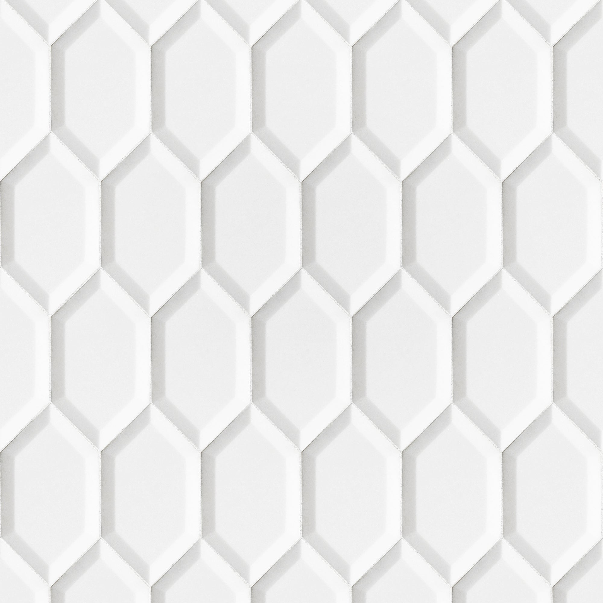 Thassos Marble Swatch Card  Polished 3- 5/16
