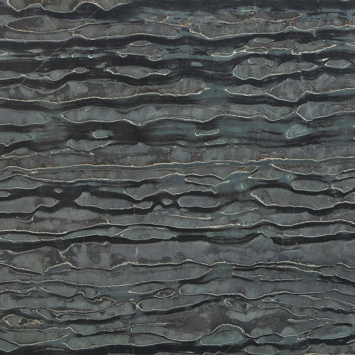 Zebrano Marble Swatch Card  Vein Cut Deep Brushed 12 x 24 x 3/8
