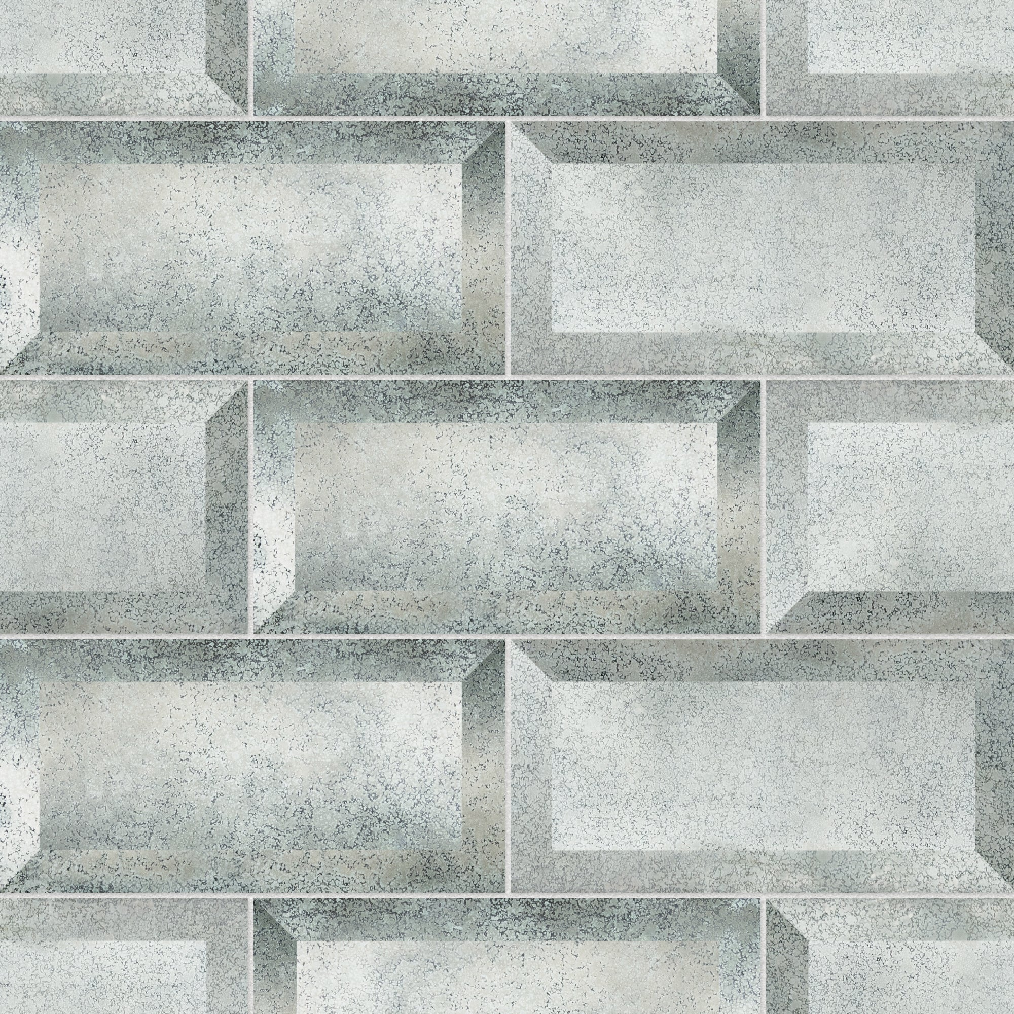 Charleston Mirror Hand Silvered Field Tile product photo