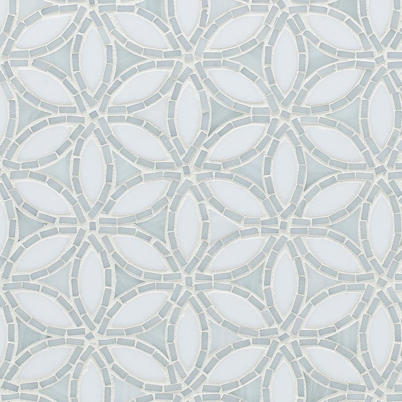 Flapper Floral Be Bop White Mosaic product photo