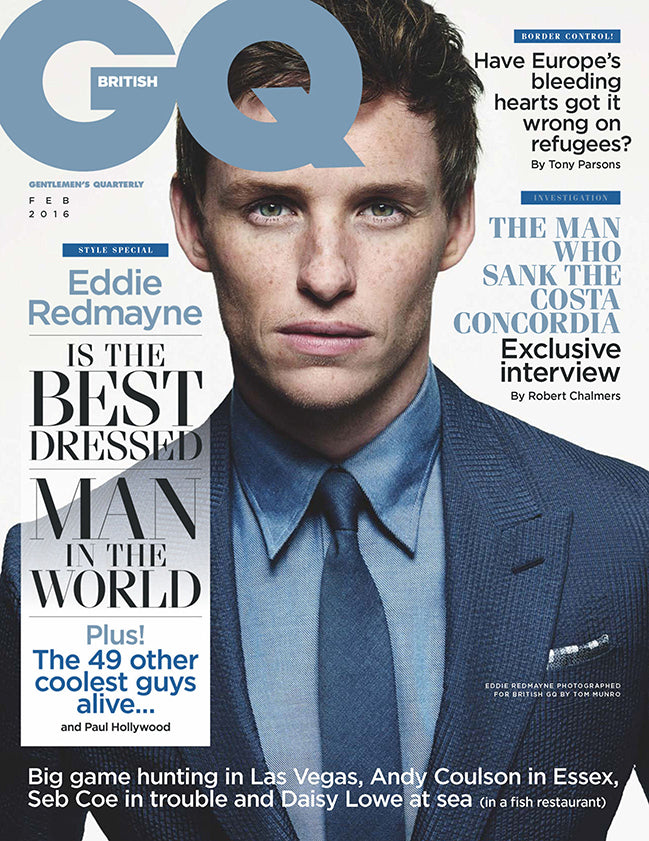 GQ FEBRUARY 2016 ISSUE