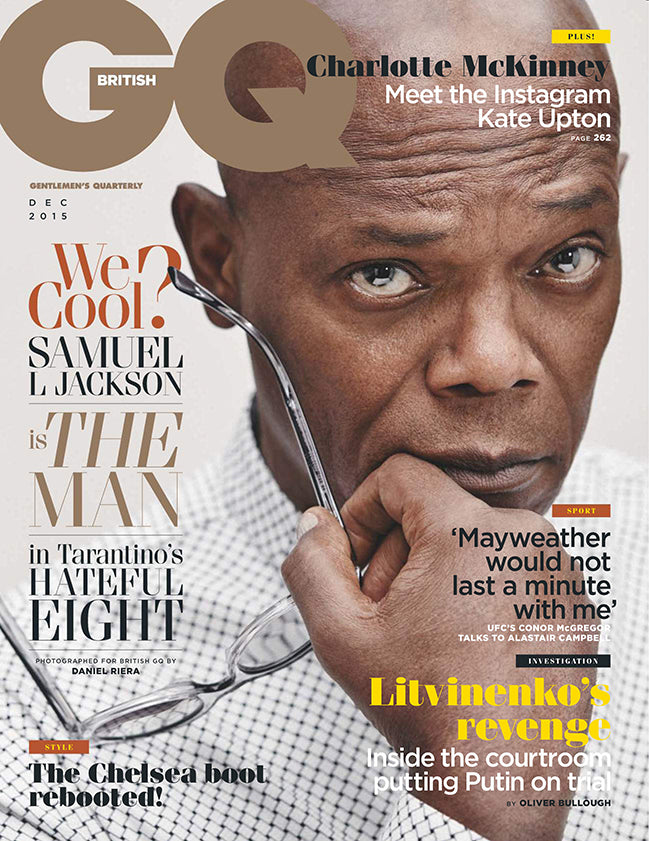 GQ december 2015 issue