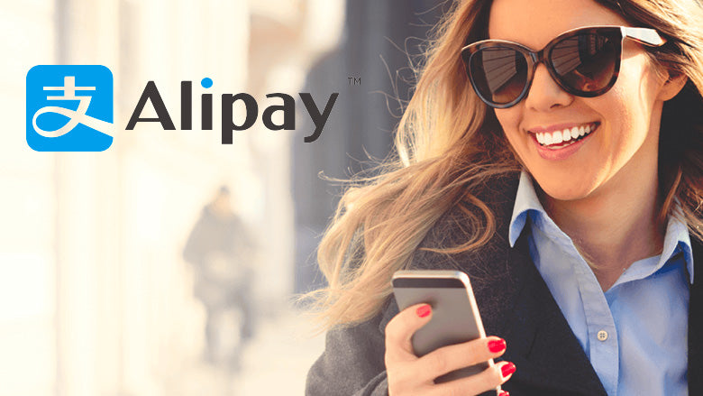 A new payment method available: it is now possible to pay with Alipay!
