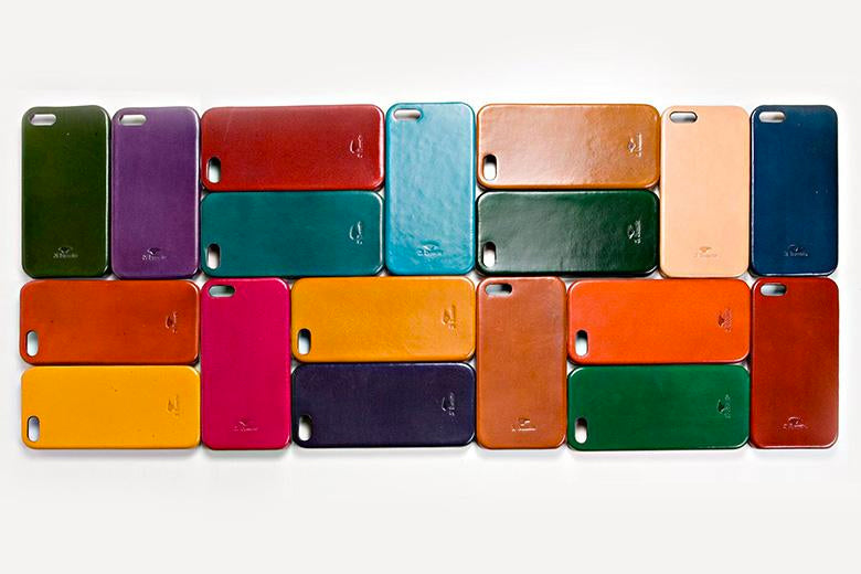 IL BUSSETTO LEATHER IPHONE 5 COVER