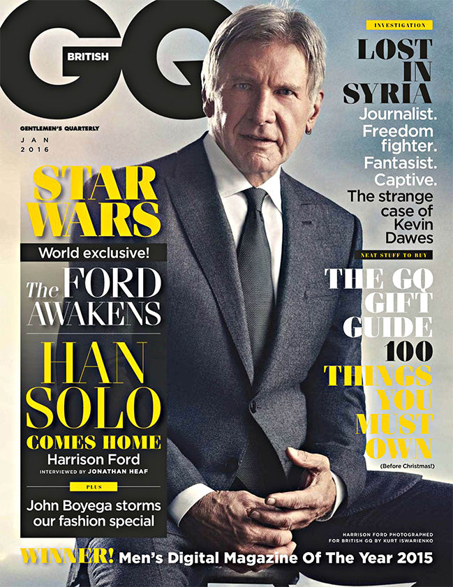 GQ JANUARY 2016 ISSUE