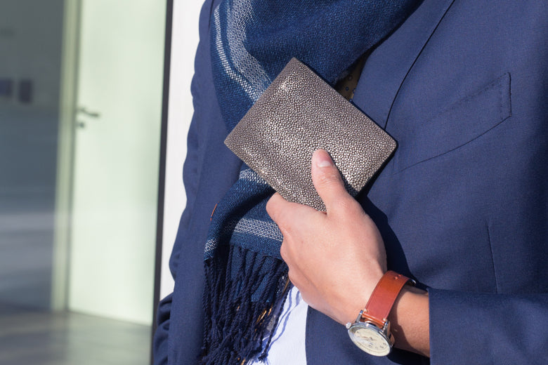 stingray wallet by Il Bussetto