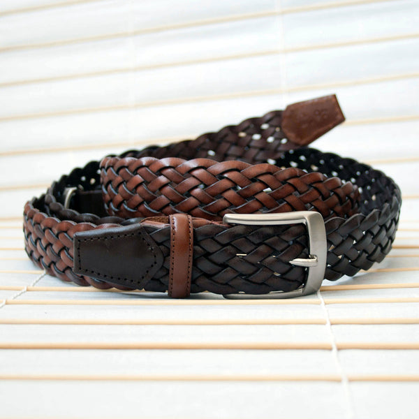 Mesh Leather Belt