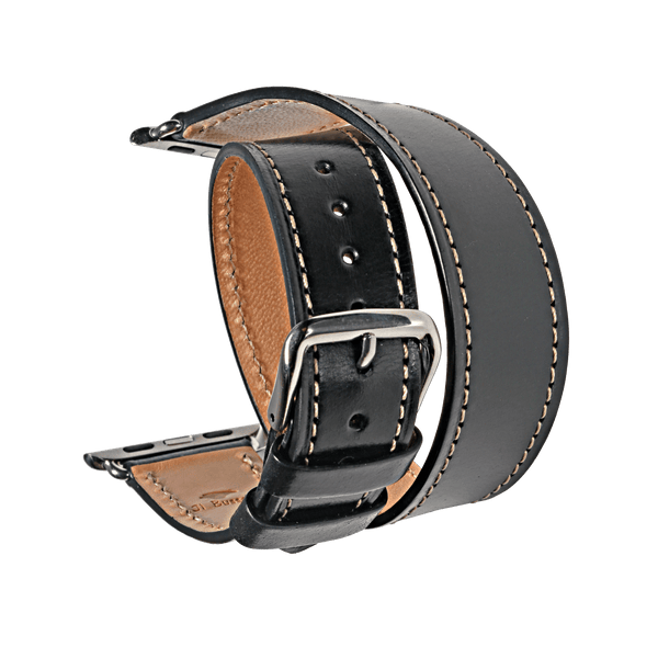 Double tour watch strap for Apple watch