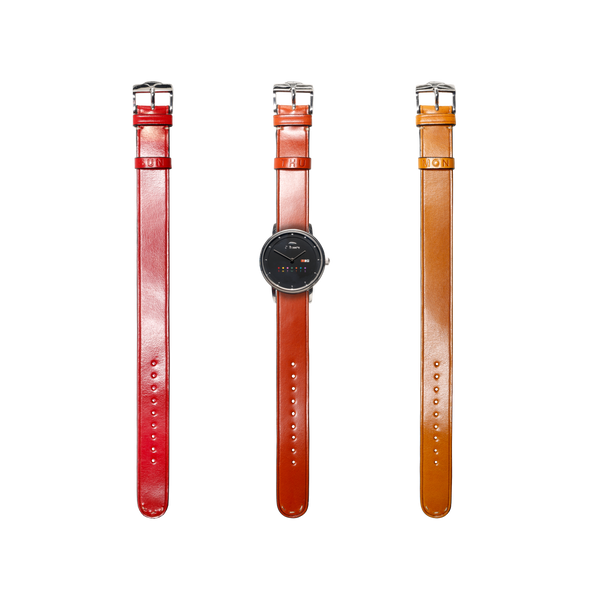 Watch + 3 Leather Watch Straps