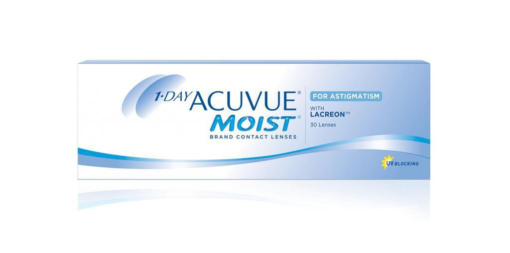1-DAY ACUVUE® MOIST for ASTIGMATISM - QvOptik