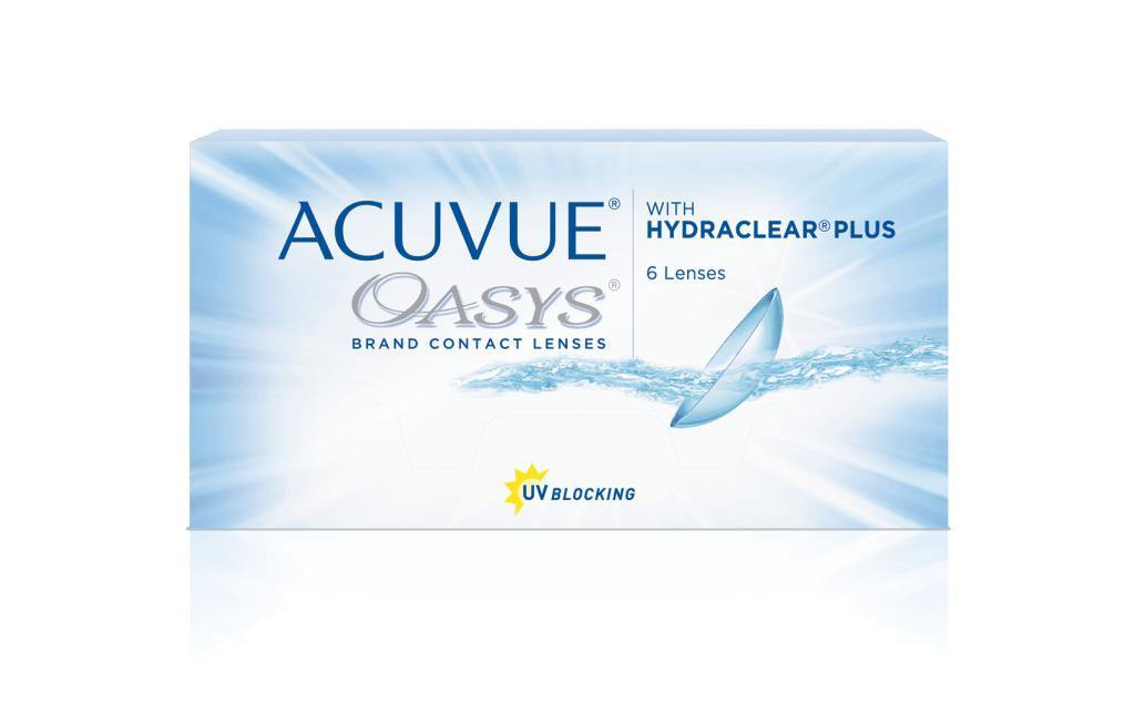 ACUVUE OASYS® 2-WEEK with HYDRACLEAR® PLUS - QvOptik
