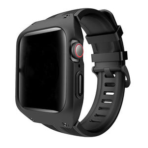 Apple Watch Solid Rubber Case Strap for 40mm/44mm