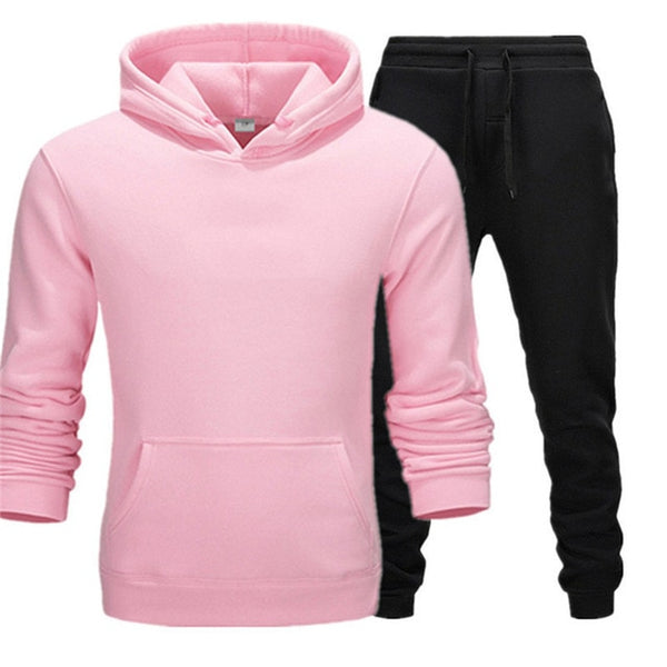 Men's Sets Fashion Sportswear Tracksuits Sets Men's Clothes gyms Hoodies+Pants Sets casual Outwear sports Suits men Hoodie Suits