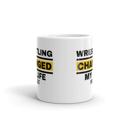 Wrestling Changed My Life Coffee Mug