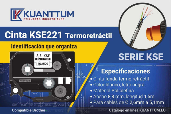 brother hse 221, comprar brother hse 221, etiquetas para cables