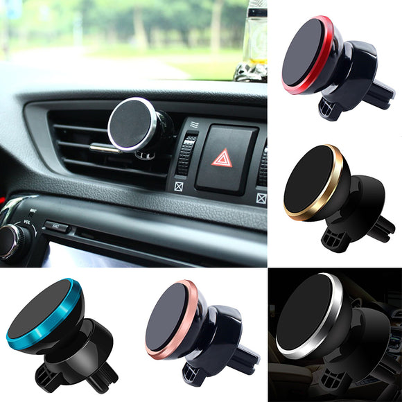 Universal Car Phone Holder 360 Degree Magnetic Air Vent Mount