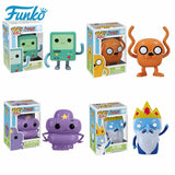 FUNKO POP Kids Favor Cartoon Adventure Time BMO JAKE Action Figure Vinyl Dolls Ice King Collectible Model Toys for Birthday Gift