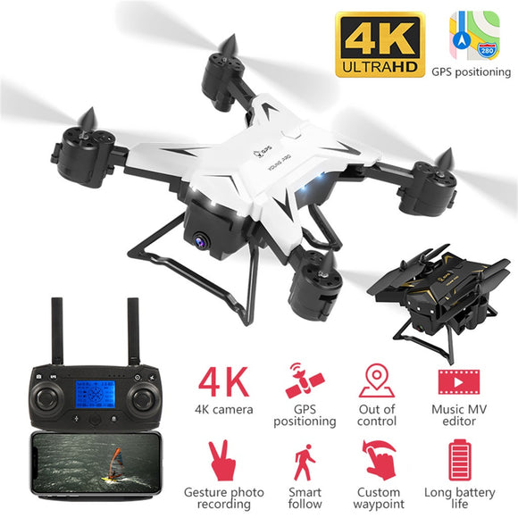 GPS Drone 4K with Camera 5G WIFI FPV Selfie Dron