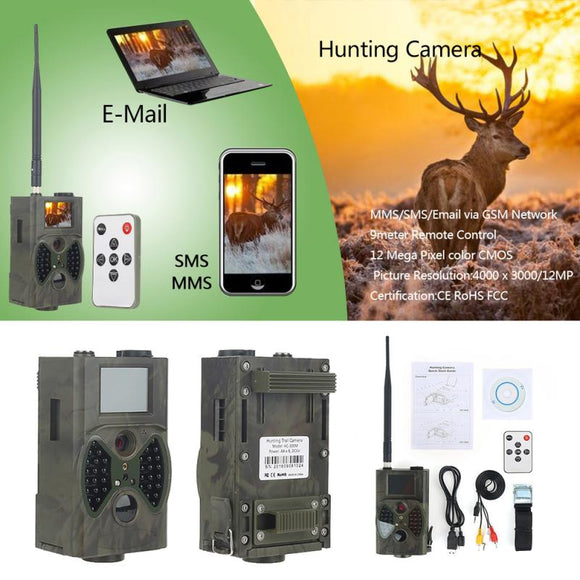 Digital Infrared Surveillance Camera for Outdoor