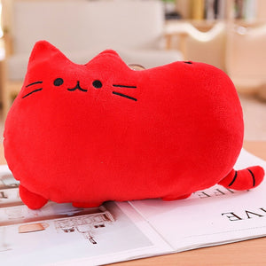 Cute cat plush Pillow kitten Cushion soft Colorful Stuffed toys Pendant doll houseware gifts for girlfriend
