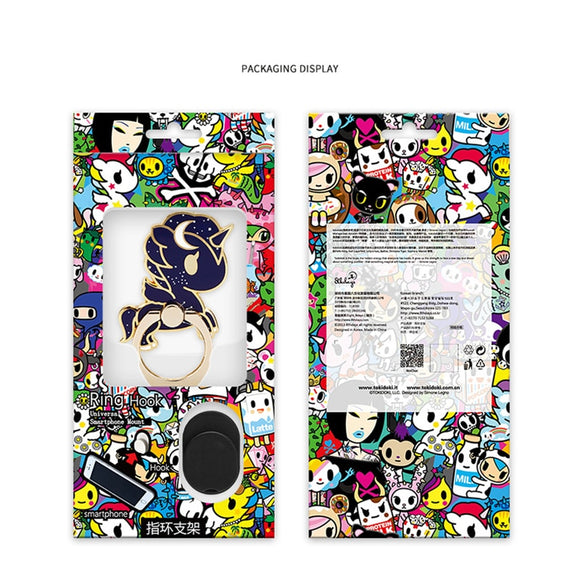 tokidoki Unicorn Phone Stand Phone Case Ring Buckle Desktop Decoration Toy Gift