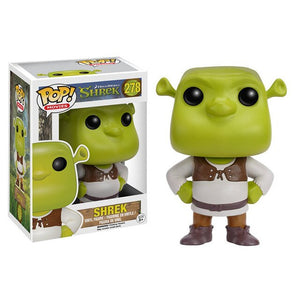 Funko Pop Shrek 278# 10cm PVC Action Toy Figures Brinquedos Collection Original Box Model for Children Gift Hot Toys